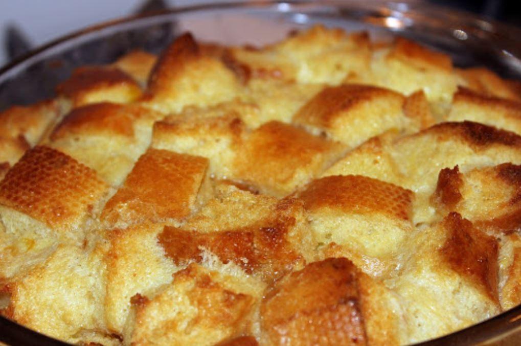 Photo de pouding au pain